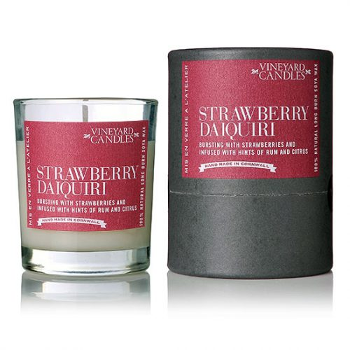 Strawberry Daiquiri Shot Candle from Vineyard Candles