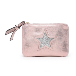 Pink Mini Sparkle Star Coin Purse - Accessories For Girls - Spirit & Grace Style