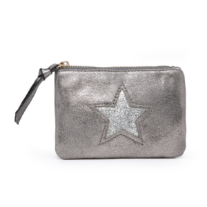 Silver Mini Sparkle Star Coin Purse - Accessories For Girls - Spirit & Grace Style