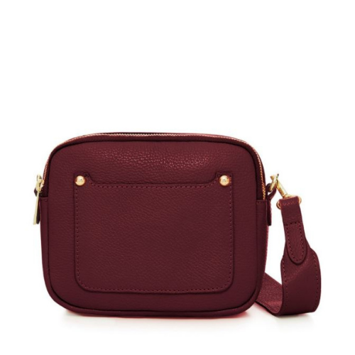 Burgundy-Double-Zipped-Leather-Crossbody-Camera-Bag-Berkshire-Accessories-Boutique-Spirit-Grace-Style
