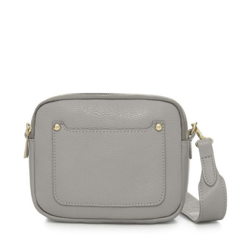 Light-Grey-Double-Zipped-Leather-Crossbody-Camera-Bag-Berkshire-Accessories-Boutique-Spirit-Grace-Style