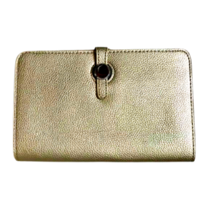 Gold Hermes Dugon Duo Purse Inspired Wallet - Bags & Straps - Spirit & Grace Style