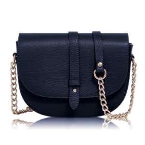 Dark Blue Chain Crossbody Bag