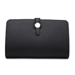 Black Hermes Dogon Duo Purse Inspired Wallet - Bags & Straps - Spirit & Grace Style