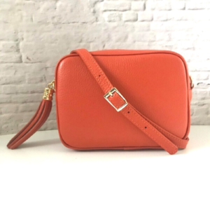 Burnt Orange Crossbody Bag - Spirit & Grace Style