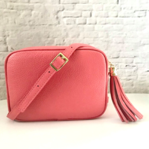 Coral Pink Crossbody Bag - Spirit & Grace Style