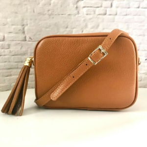 Light Tan Crossbody Bag - Spirit & Grace Style