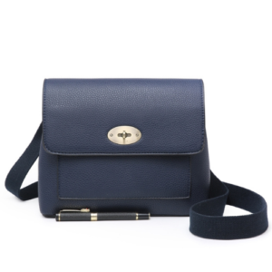 Navy Blue Mulberry Inspired Crossbody Messenger Bag - Bags & Straps - Spirit & Grace Style