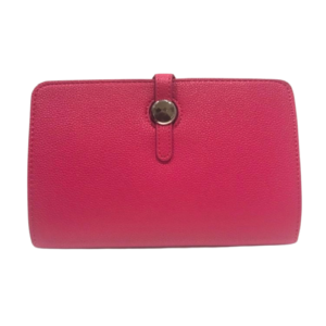 Hot Pink Hermes Dogon Duo Purse Inspired Wallet - Bags & Straps - Spirit & Grace Style