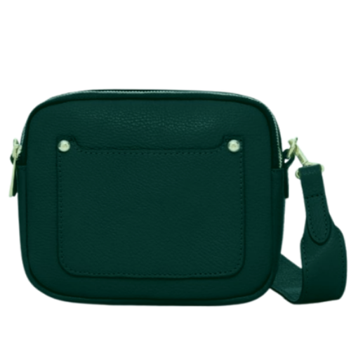 Dark-Teal-Double-Zipped-Leather-Crossbody-Camera-Bag-Berkshire-Accessories-Boutique-Spirit-Grace-Style